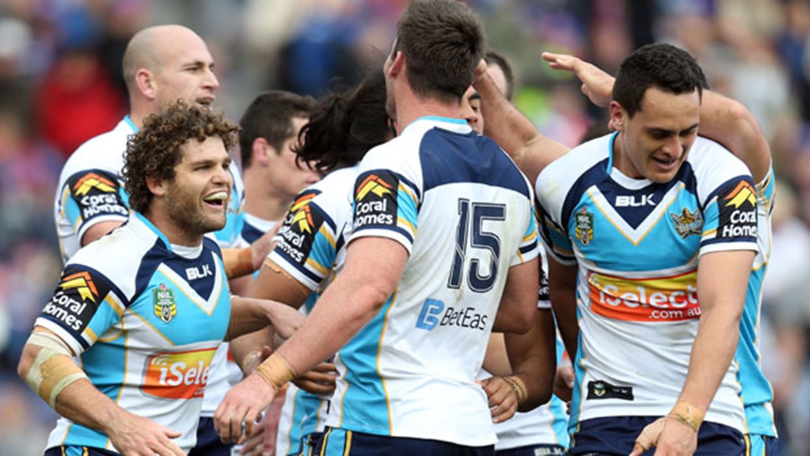 The Titans' sixth win on the road this year has coaching staff considering going into camp ahead of Saturday evening's clash with Parramatta.