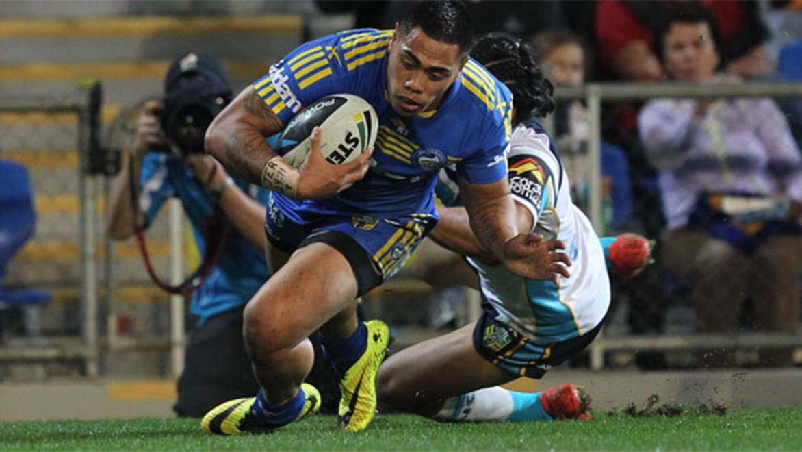Eels winger Ken Sio returns from injury against Newcastle this week.
