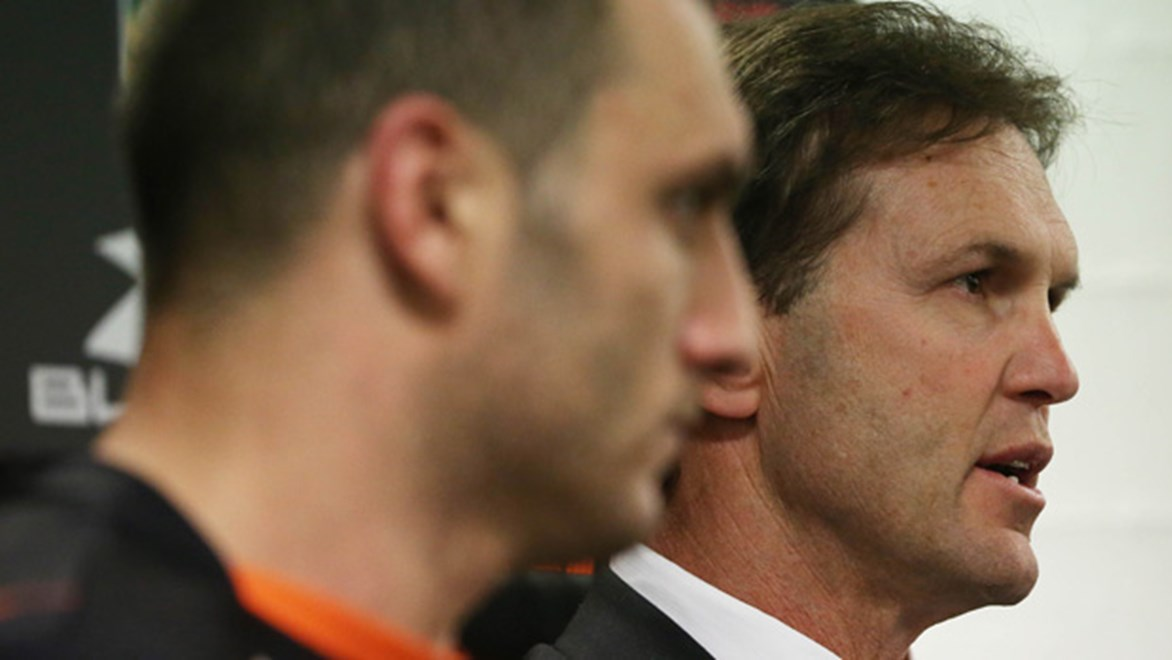The Wests Tigers won't renew the contract of coach Mick Potter for 2015.