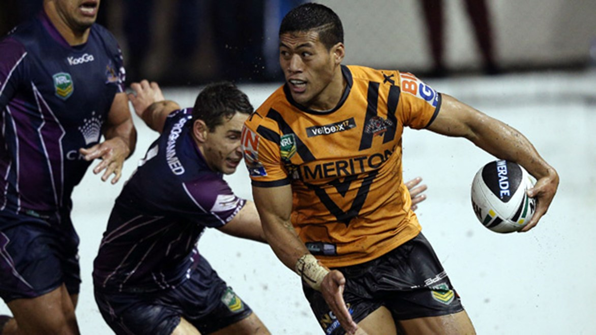 Tim Simona will be be a handful for the Storm yet again as they travel to Campbelltown Stadium to face Wests Tigers in Round 21.