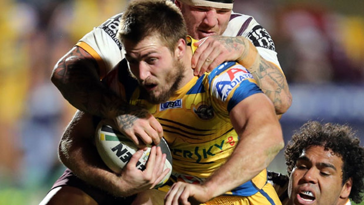 Manly five-eighth Kieran Foran overcame sickness to play in the Sea Eagles 14-4 win over the Broncos.