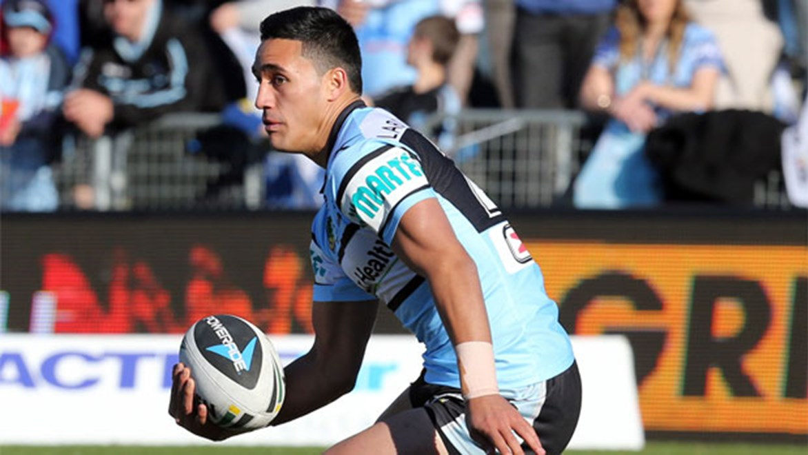 Valentine Holmes enjoyed a strong debut against the Eels in Round 21 despite his side's 32-12 loss.