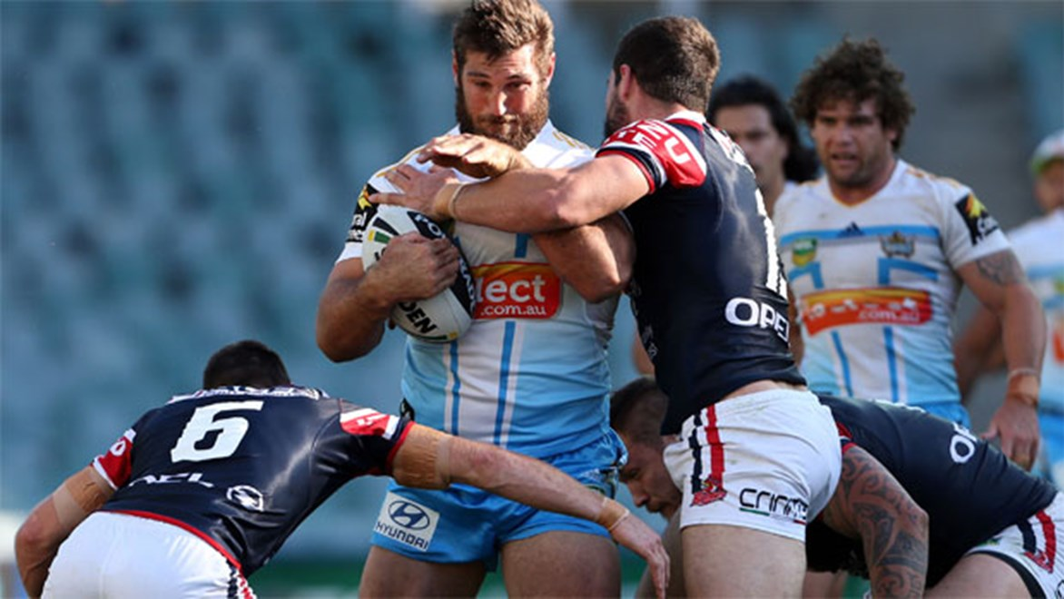 It's size versus speed when Dave Taylor's Titans take on Michael Jennings and the Roosters on Monday night.