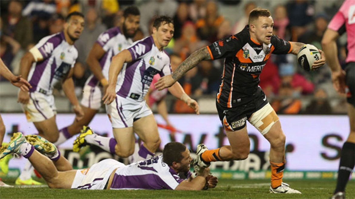 On the line... Wests Tigers' clash against the Cowboys this weekend looms as a genuine must-win.