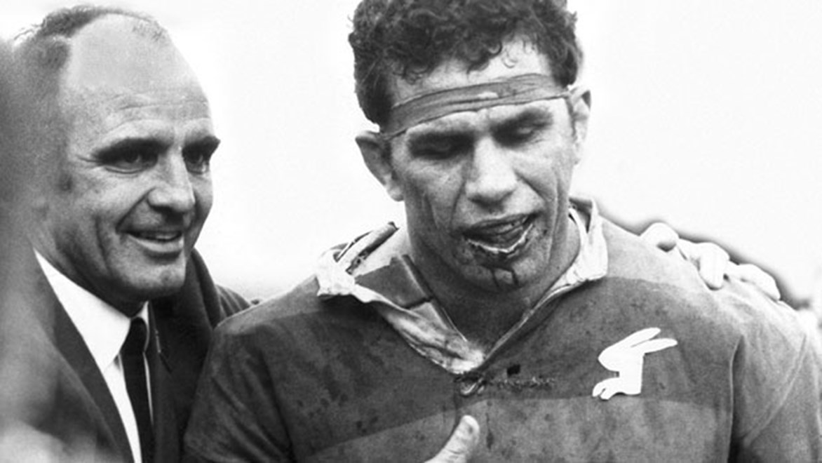 The Rabbitohs' media team have delivered an extraordinary Twitter commentary of the iconic 1970 Grand Final.
