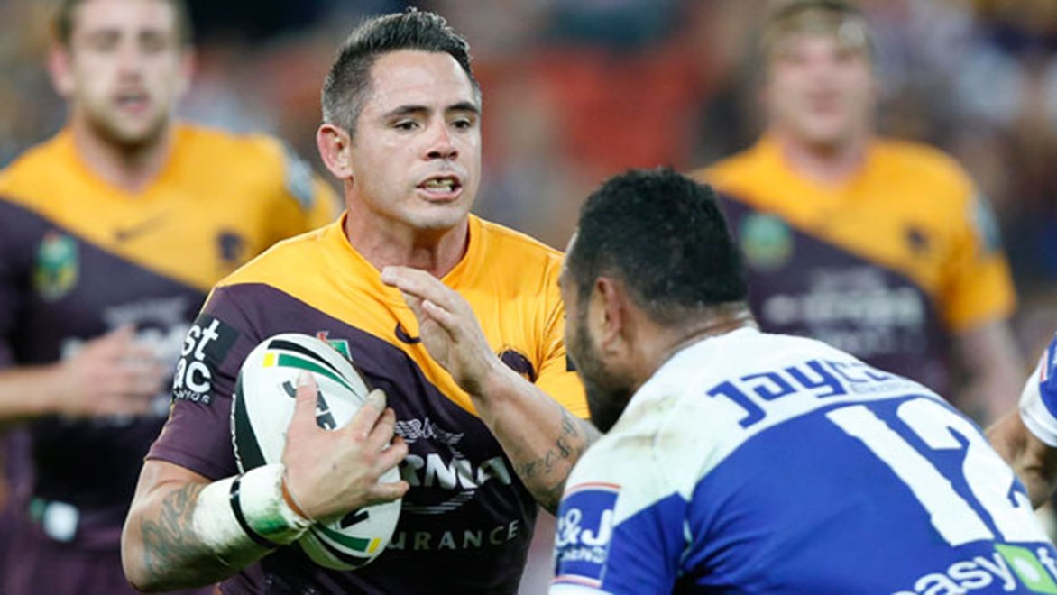 Broncos skipper Corey Parker was inspirational up front, running for a game-high 187 metres on Friday night.