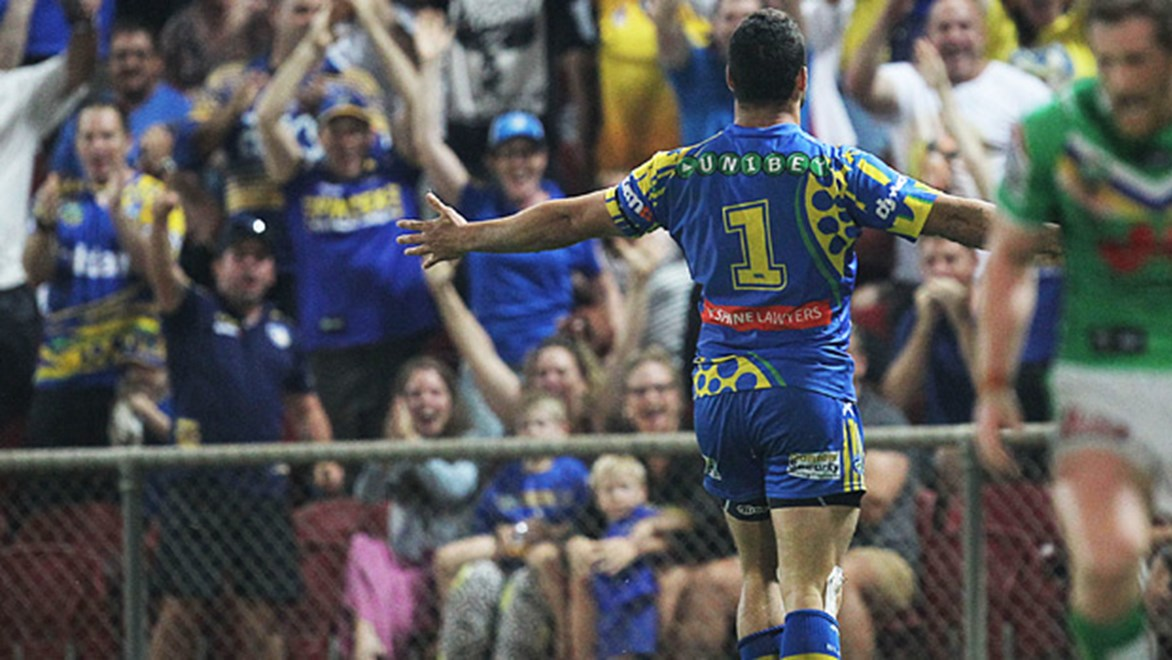 Eels co-captain Jarryd Hayne is the most expensive player in Holden NRL Fantasy after Round 22.