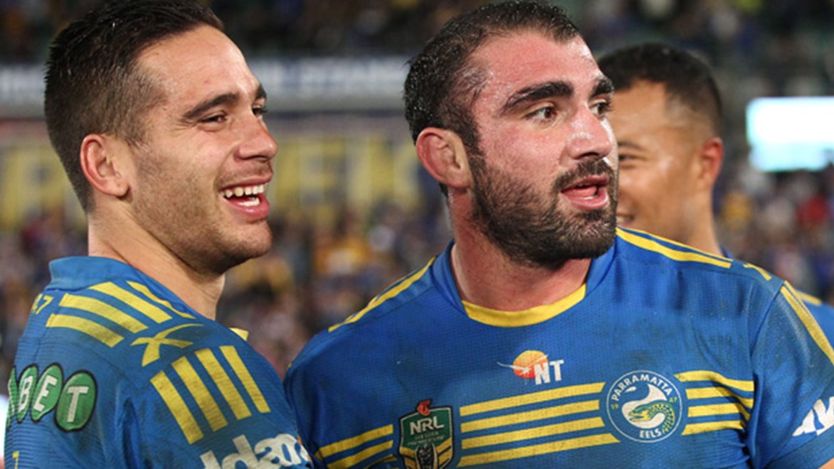 Eels co-captain Tim Mannah is one of the few experienced players in the Parramatta side brimming with young talent.