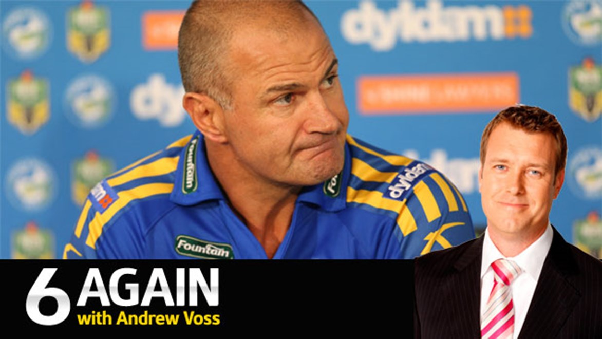 Eels mentor Brad Arthur gets Andrew Voss's vote for the coach of 2014.