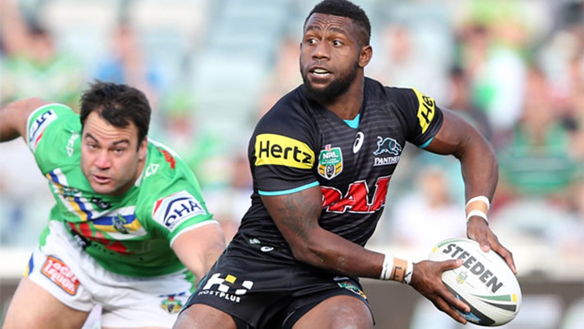 James Segeyaro could be a late inclusion for the Panthers against Manly this week.