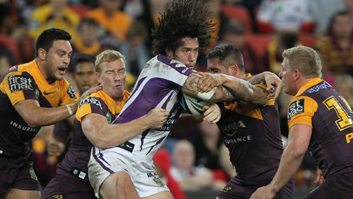 Brisbane have found it difficult to collar the Storm in recent clashes, with Melbourne's 30-8 win in Round 20 their seventh win over the Broncos in succession.