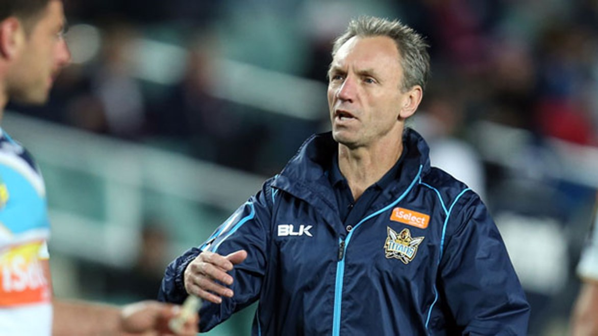 Neil Henry has been installed as the second coach of the Gold Coast Titans having served as John Cartwright's assistant for the 2014 season.