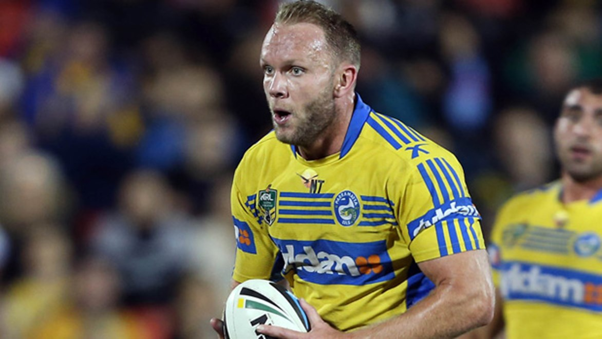 David Gower has been in fine touch for the Eels in 2014.