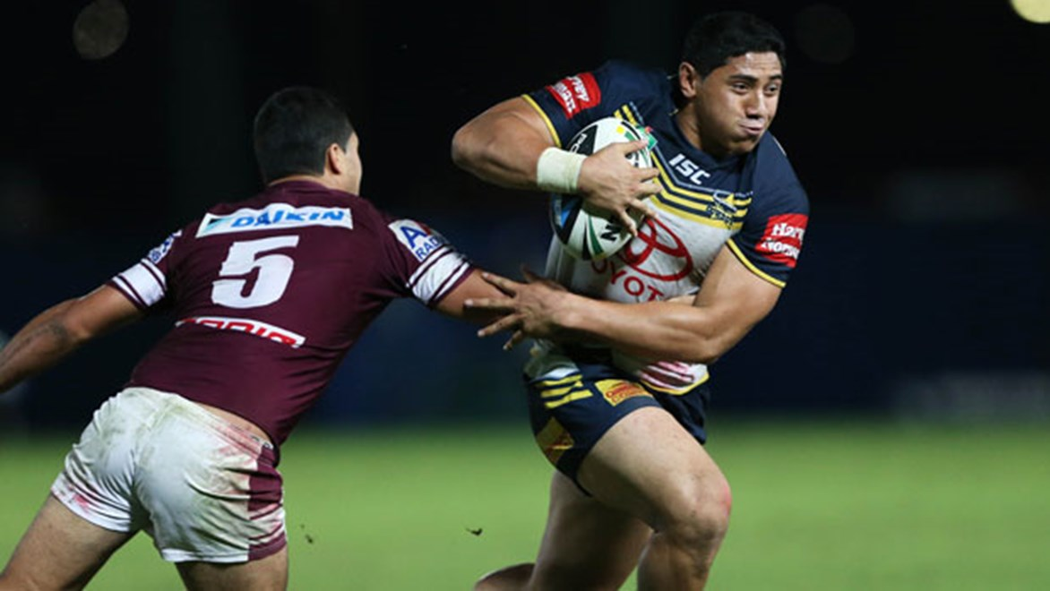 Jason Taumalolo v Manly.