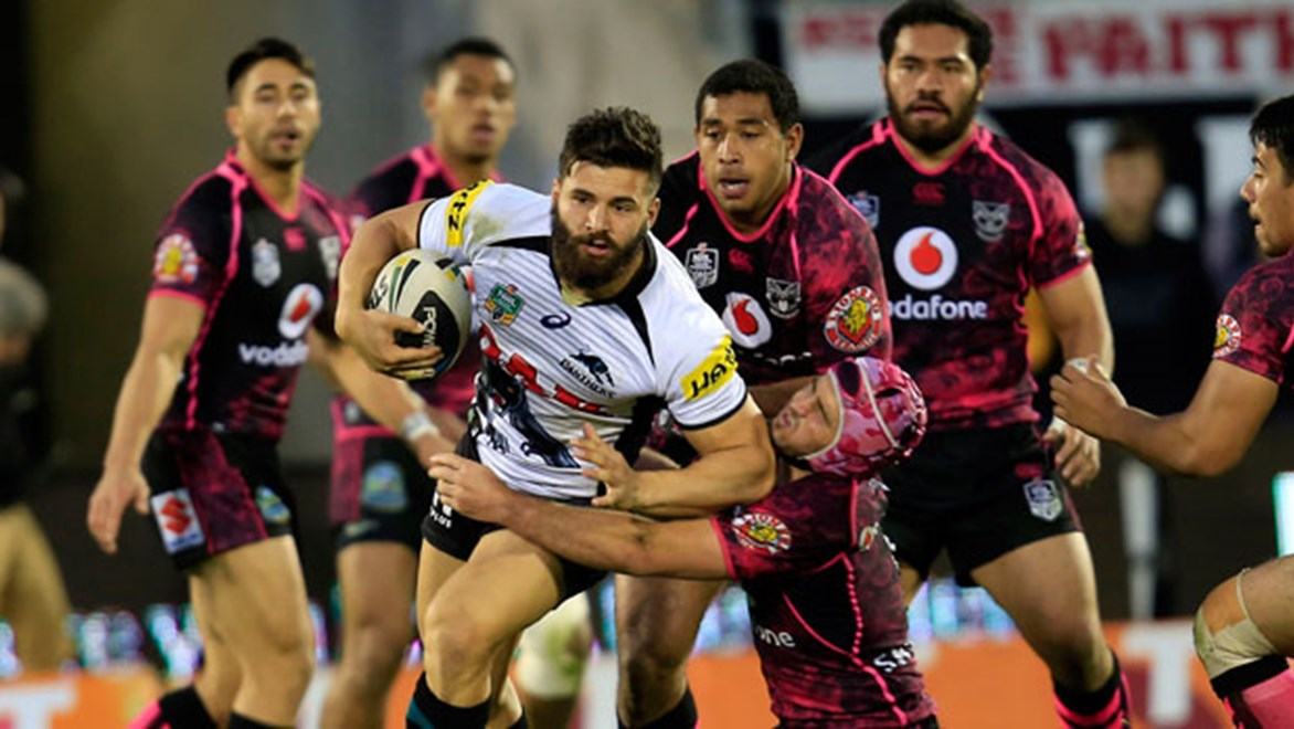 Josh Mansour v Warriors.