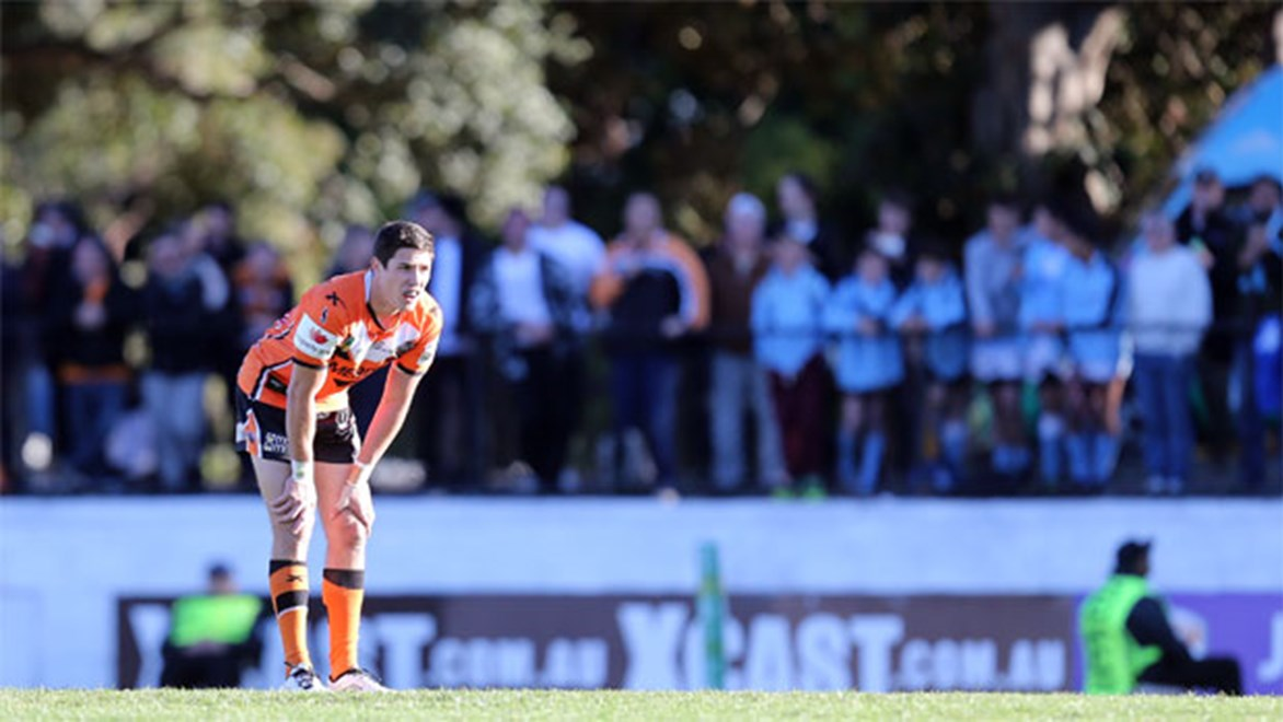 Wests Tigers rookie Mitchell Moses has tasted victory just once in nine games.