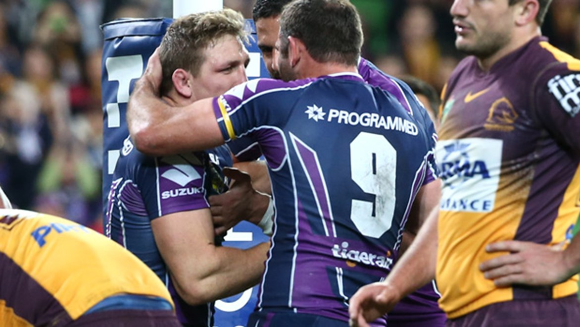 Storm captain Cameron Smith faces a race against the clock to be fit for the first week of the finals.