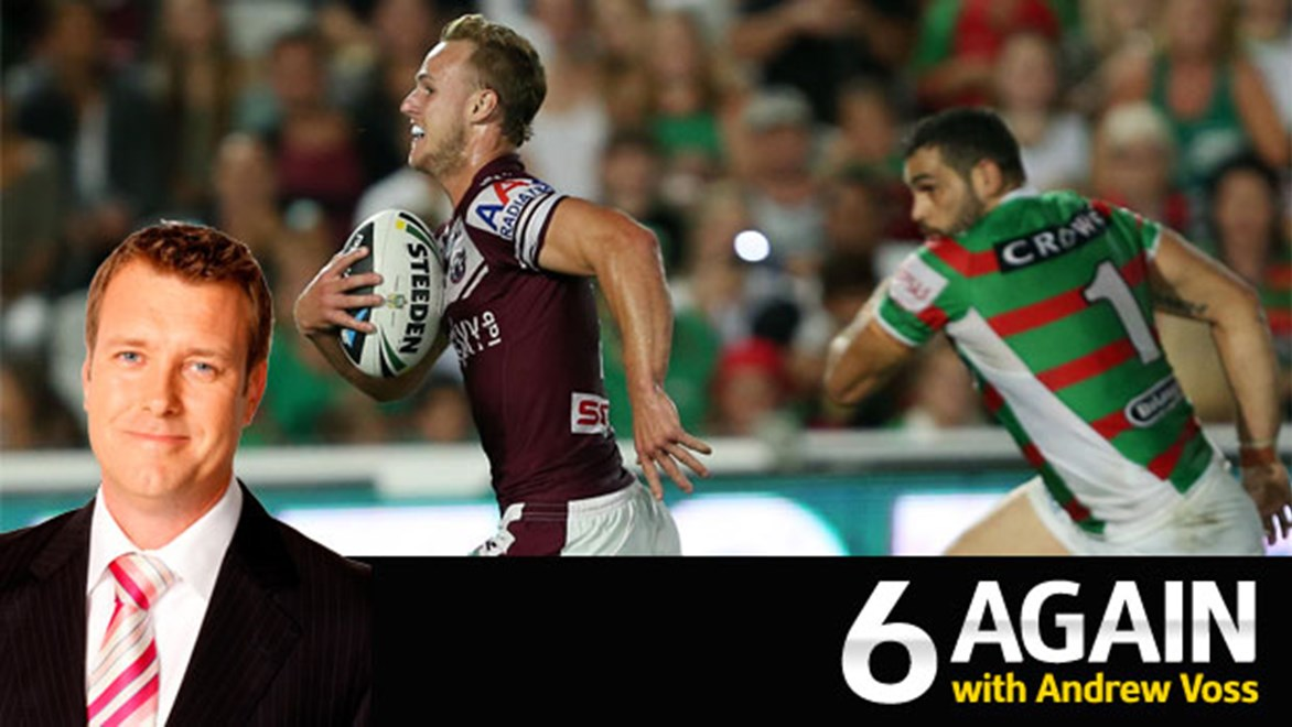 The battle of Daly Cherry-Evans' Manly and Greg Inglis's Rabbitohs could be the perfect way to kick of the 2014 Telstra Premiership Finals Series.