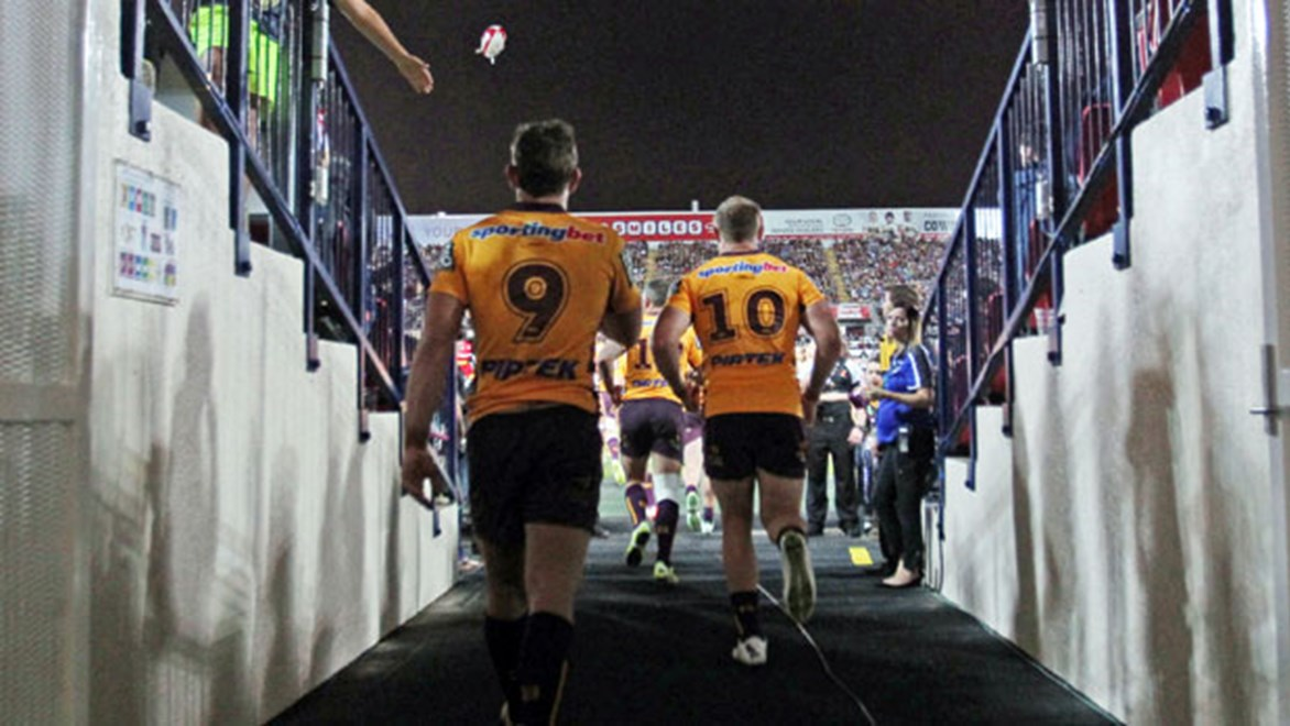 A raucous North Queensland crowd will be awaiting Broncos players when they take the field in Saturday night's Elimination Final.