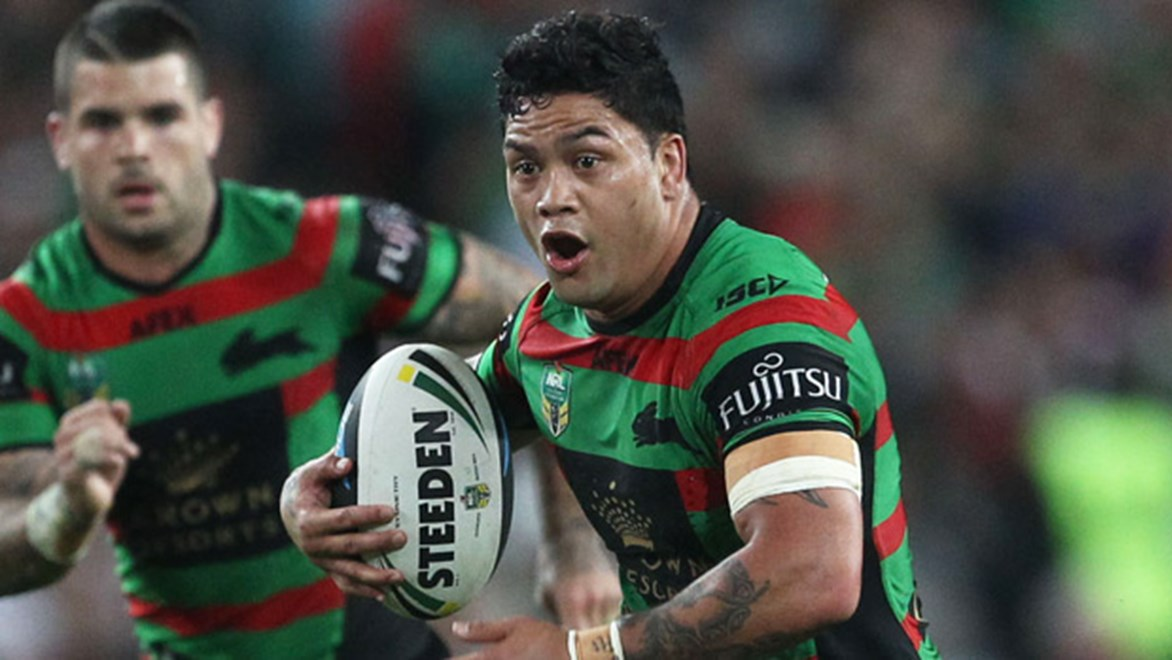 Rabbitohs hooker Issac Luke has been charged with a grade one dangerous throw and could miss the 2014 grand final.