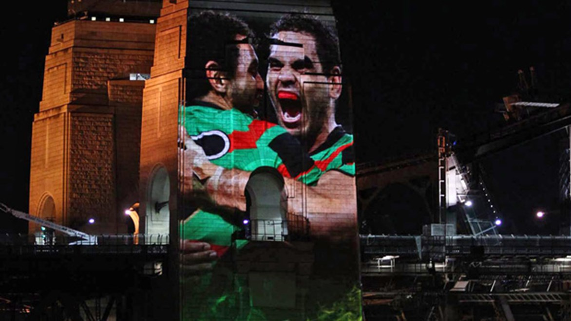 The Sydney Harbour Bridge will be lit up each night in the countdown to the 2014 NRL Telstra Premiership grand final.