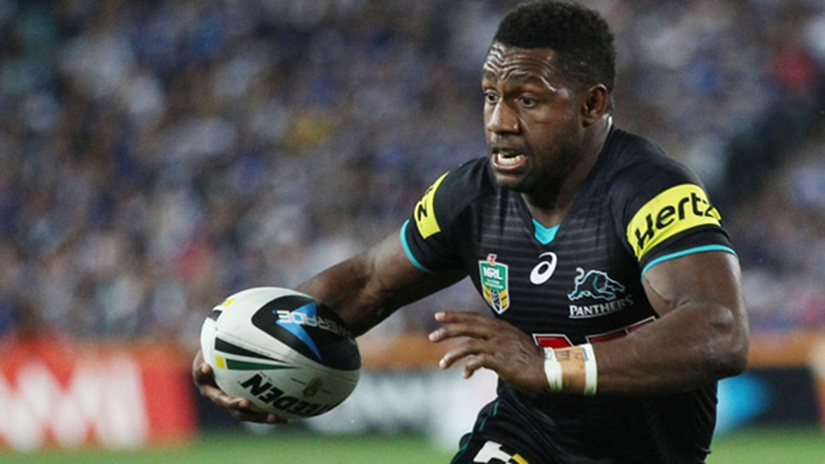 James Segeyaro was the top scorer in the Panthers-Bulldogs Holden NRL Fantasy preliminary final match day game.