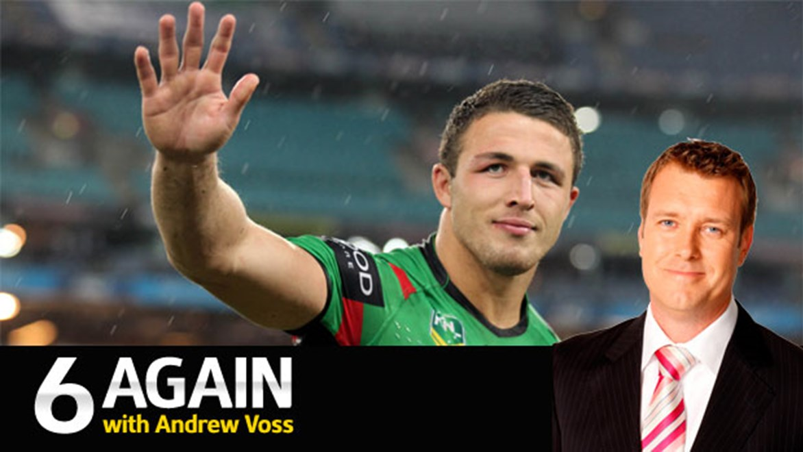 Don't go Sam: Andrew Voss says Sam Burgess won't be able to match the feeling of playing alongside his brothers in rugby league.