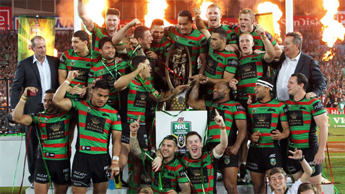 The South Sydney Rabbitohs are crowned 2014 NRL premiers.