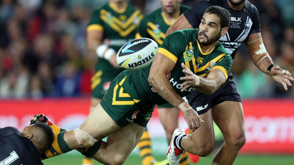 Greg Inglis is the most likely man to take over from the injured Billy Slater at the Four Nations.