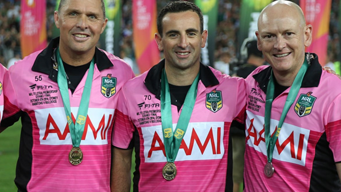 Gerard Sutton will officiate during the 2014 Four Nations tournament.