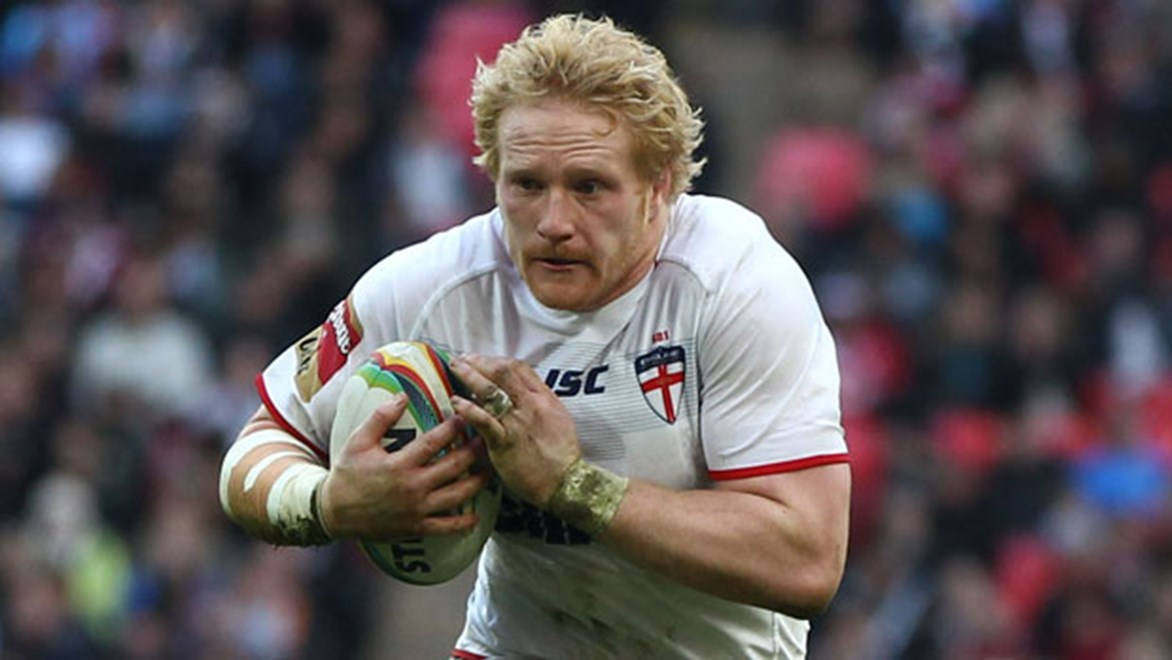 Prop James Graham will line up in England's Test against Toa Samoa with the little 'c' next to his name.