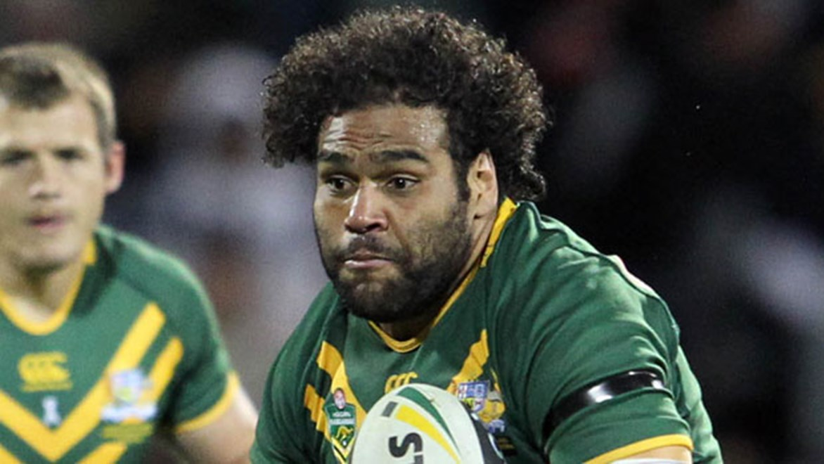 Brisbane back-rower Sam Thaiday is resigned to playing prop for Australia in the absence of several first-choice front rowers