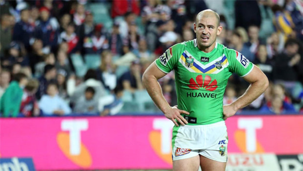 Raiders stalwart Terry Campese was a notable absentee from day one of Canberra's pre-season.