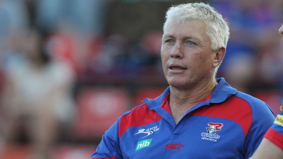 Newcastle Knights coach Rick Stone is hopeful of re-signing David Fa'alogo and Chris Houston, as well as enticing a few more recruits to the club, for the 2015 season.