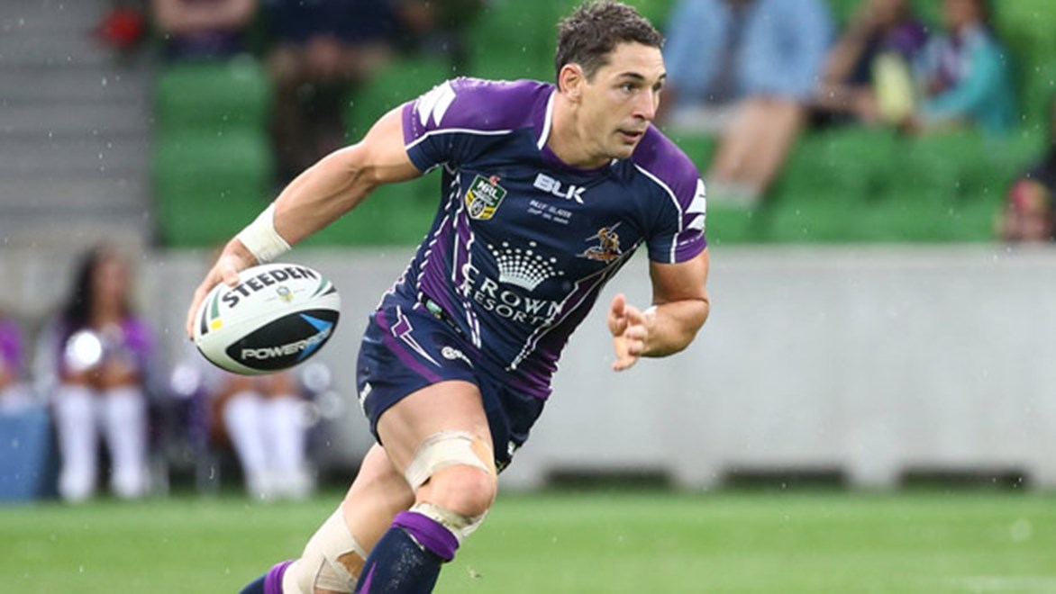 Billy Slater was one of a number of NRL stars with a tip for the 2014 Melbourne Cup.