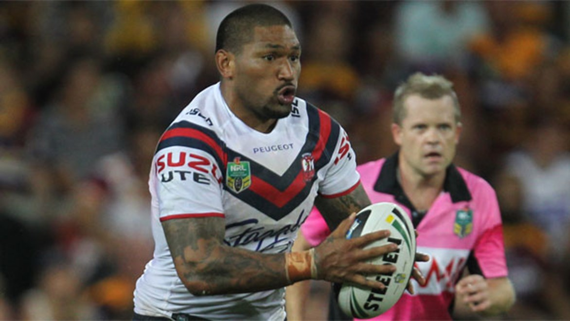 Roosters forward Frank-Paul Nuuausala has been released from the final year of his contract to join the Raiders.