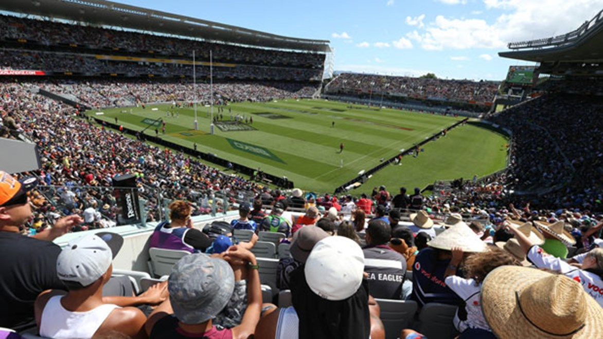 The second Dick Smith NRL Auckland Nines will serve as the backdrop to the launch of the 2015 NRL season in New Zealand on January 29.