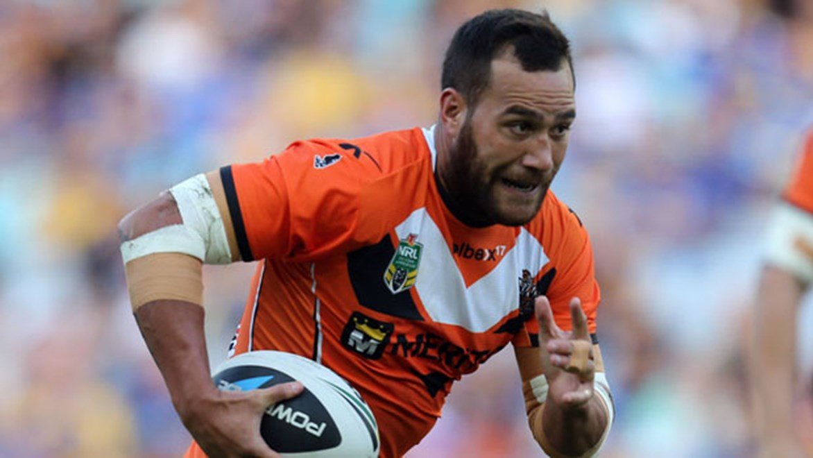 New Warriors back-rower Bodene Thompson said his move across the ditch was designed to be closer to his son.