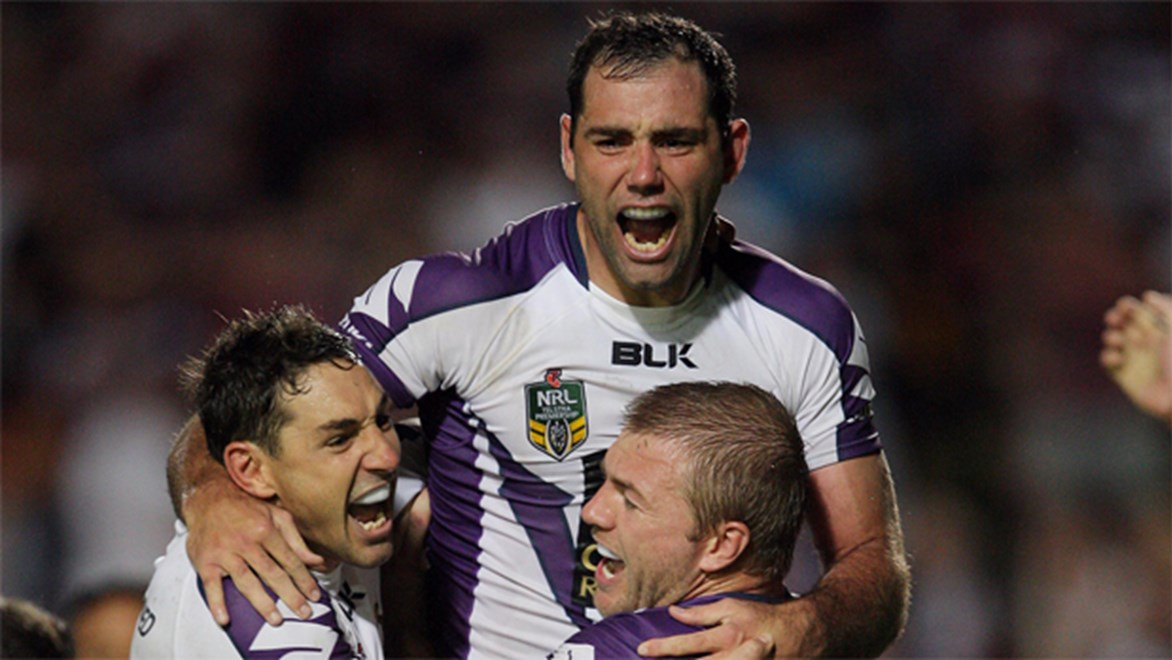 Will the likes of Cameron Smith and Billy Slater help return the Storm to the top of the heap in 2015?