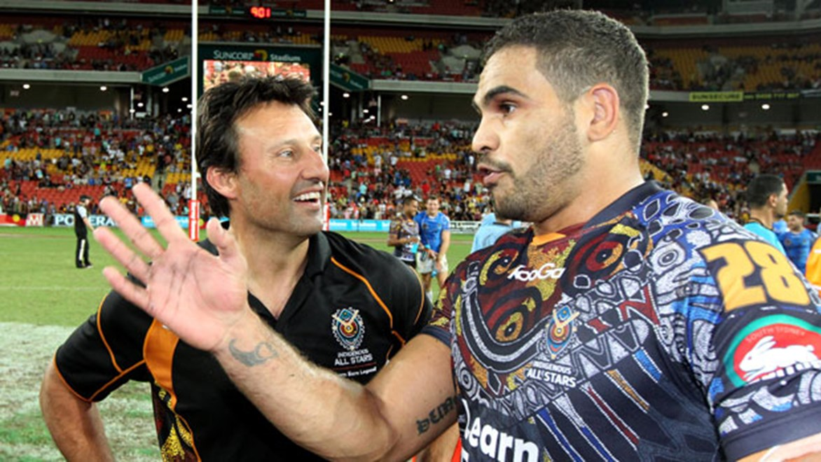 Indigenous All Stars coach will have Greg Inglis and a host of the game's best players at his disposal when voting closes on Friday.
