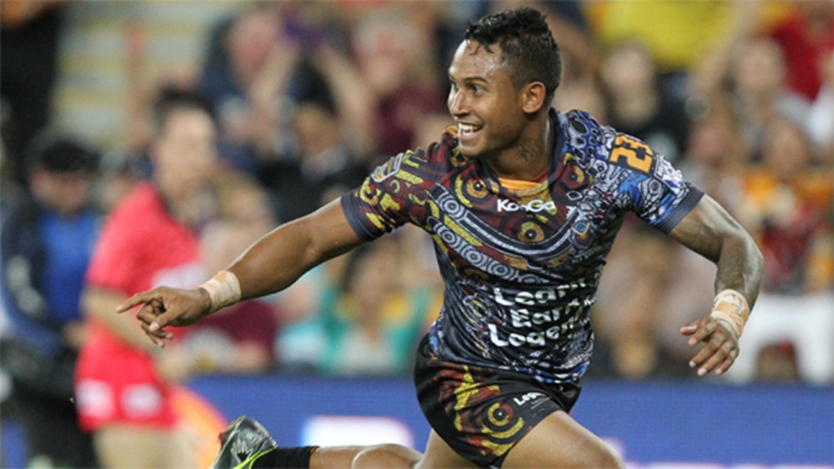Will Sharks recruit Ben Barba turn out for the Indigenous All Stars again in 2015?