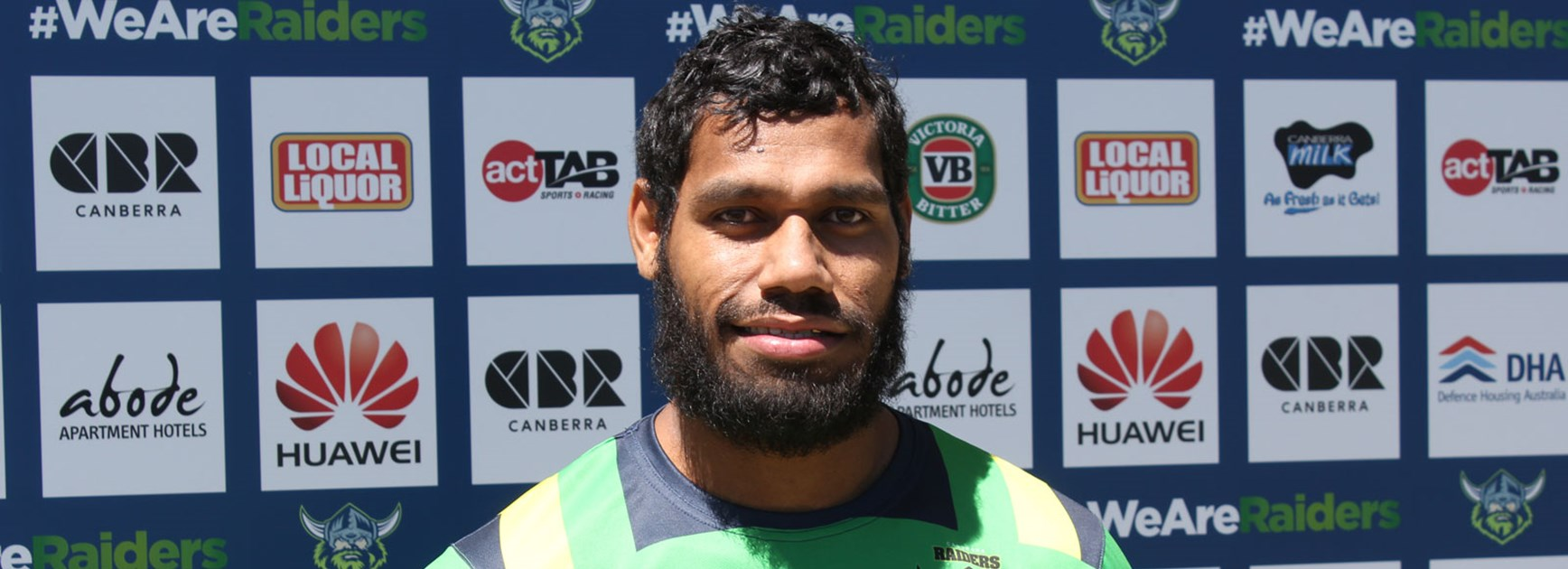 New Raiders signing Sisa Waqa will be a key weapon on the wing for Canberra.