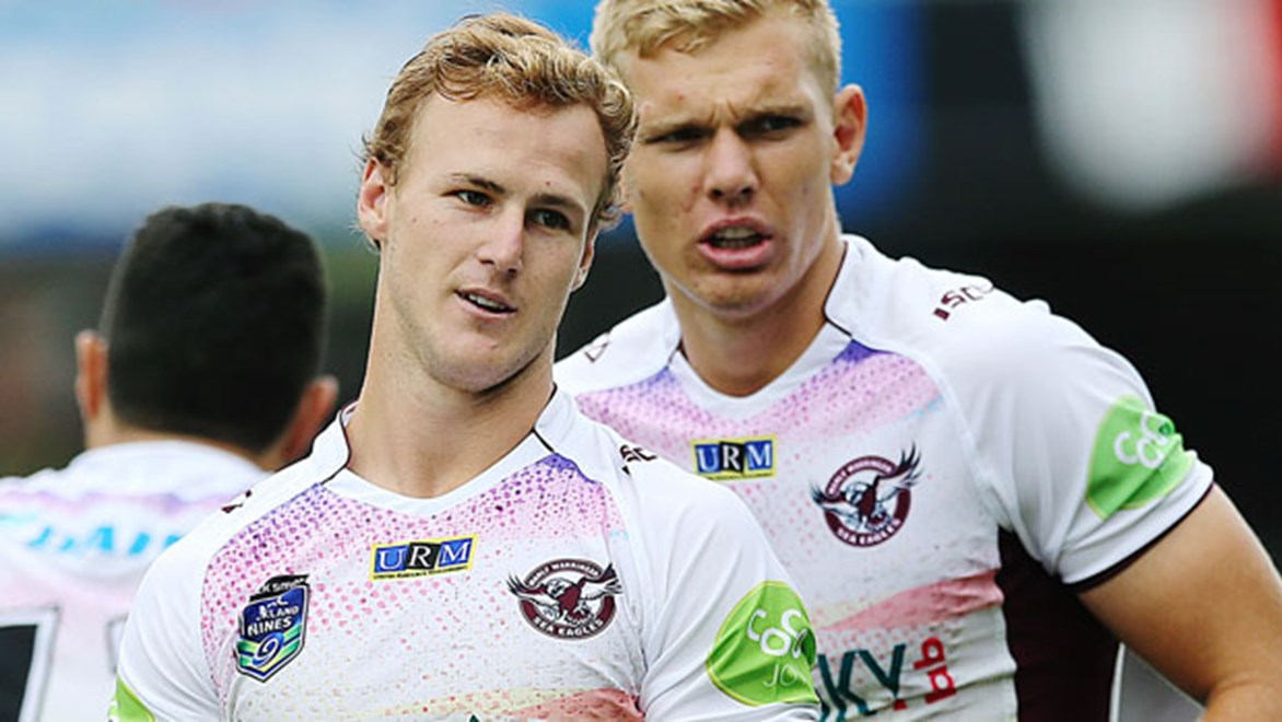 He captained the club at the Auckland Nines but will the Titans be able to lure Daly Cherry-Evans away from the Sea Eagles at season's end?