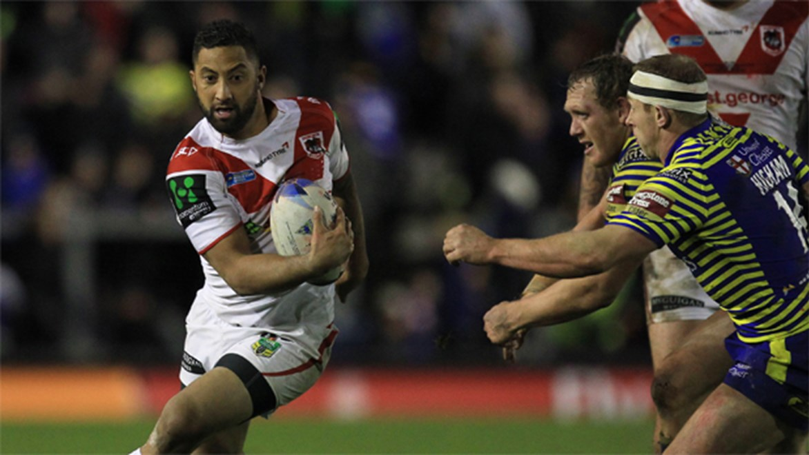 Beni Marshall was at his scheming best as he helped the Dragons to an 18-12 win over Warrington in the World Club Series.