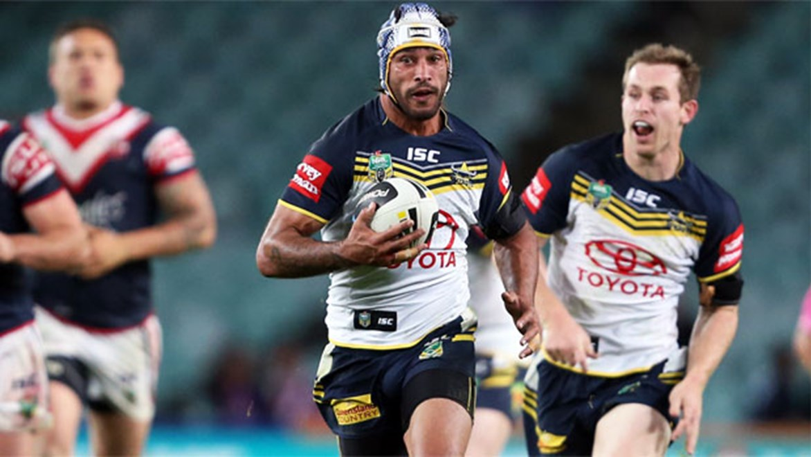 Johnathan Thurston's match-up with Mitchell Pearce will be a key factor in the Round 1 Cowboys v Roosters blockbuster.