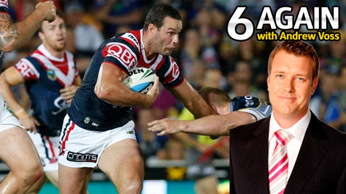 Boyd Cordner was one of several standouts for the Roosters on the weekend.