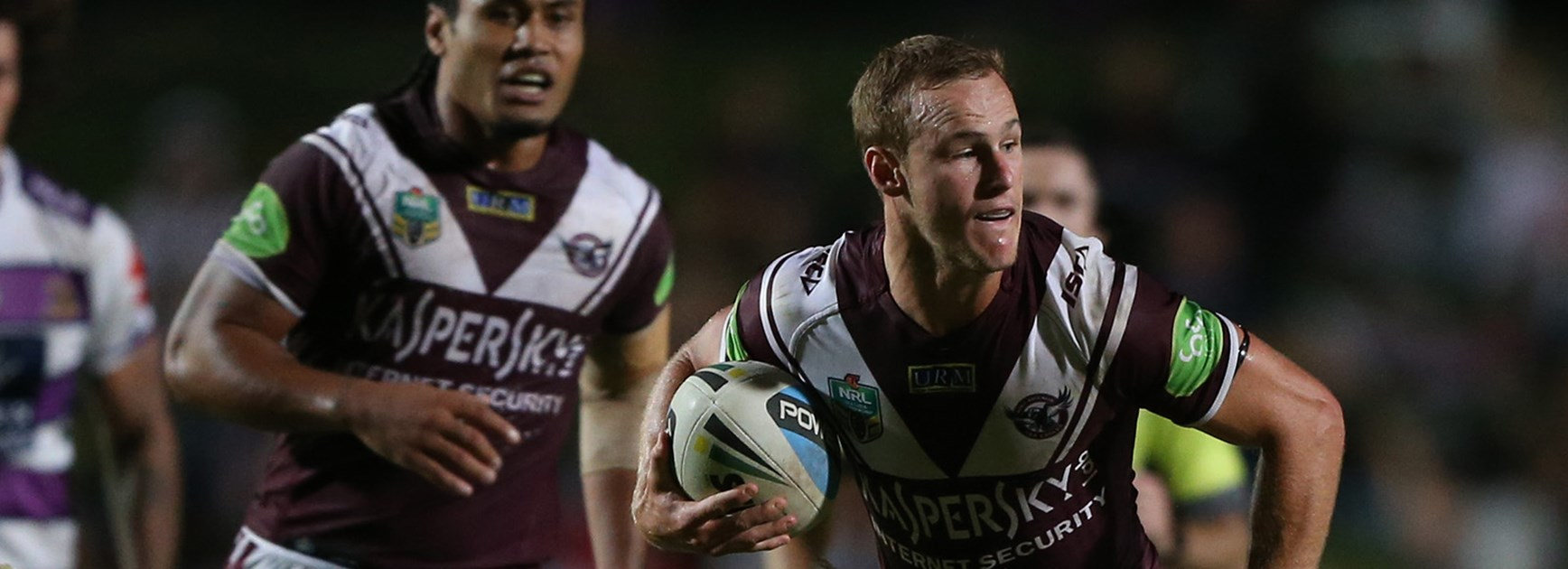 Departing Manly halfback Daly Cherry-Evans was a stand-out performer in his side's Round 2 win over Melbourne Storm.