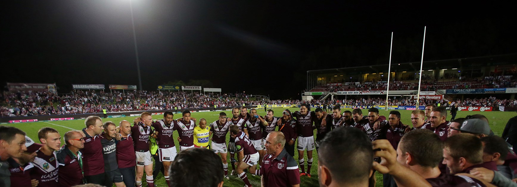 Manly at Brookvale Oval are a totally different proposition according to Des Hasler.