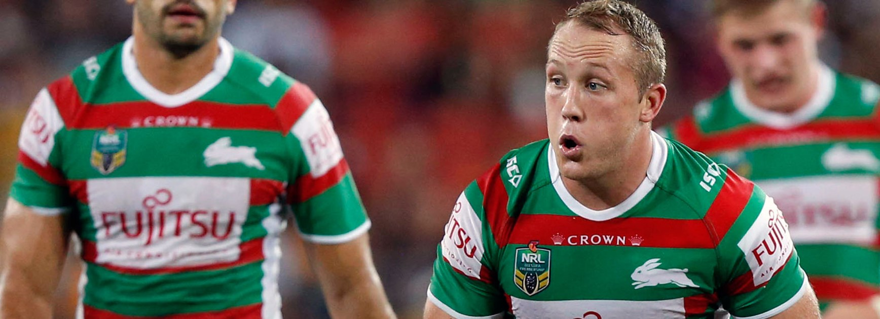 Rabbitohs utility Jason Clark has fond memories of junior playing days at Redfern Oval.