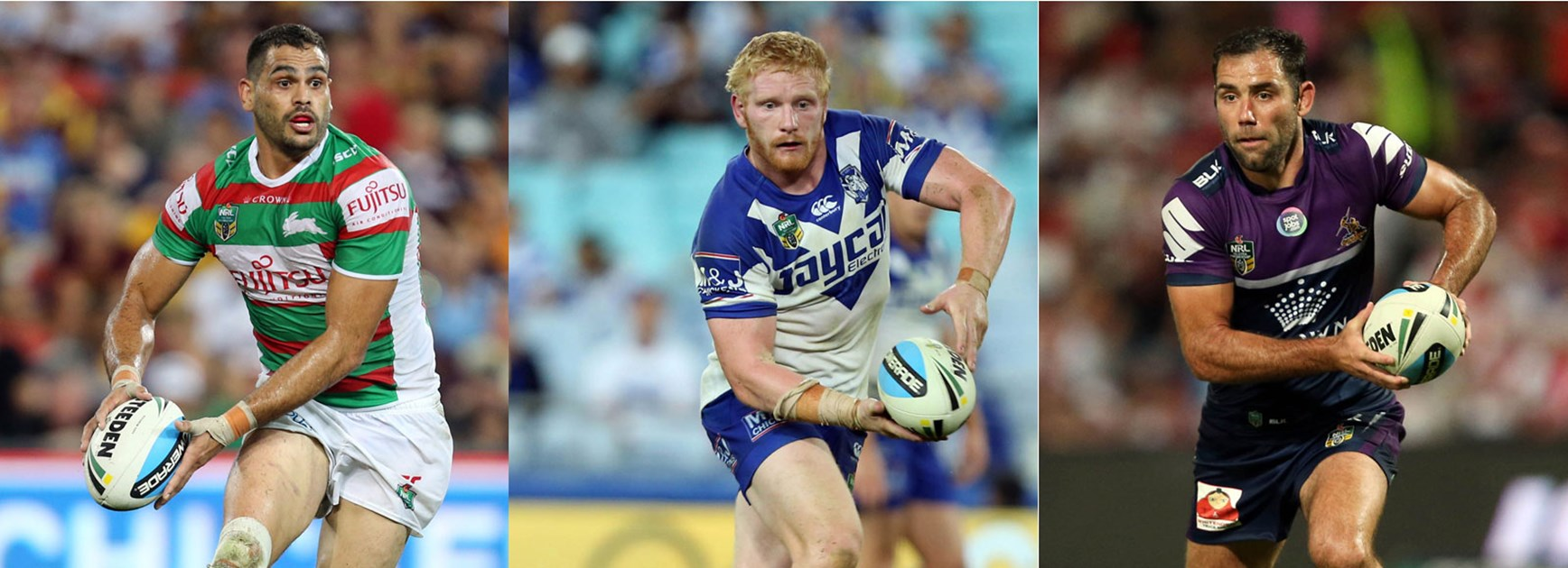 Greg Inglis, James Graham and Cameron Smith each command respect from the opponents they play against.